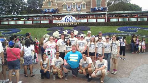 Our Team At Disneyland